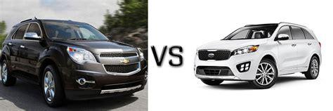 Kia Sorento Vs Chevy Equinox Compare New Chevy Models Chevrolet Sales Near Belmont Nh
