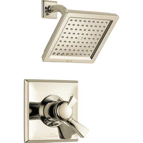 Delta Dryden Shower by Delta Dryden Single Handle Shower Only Faucet Trim Kit In Polished Nickel Valve Not Included