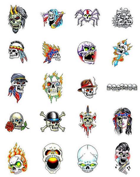 skull collage tattoo designs different mexican skull designs ideas