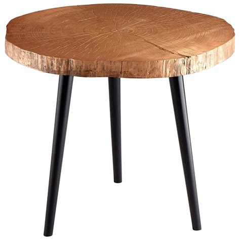 Copper Side Table Timber Copper Side Table From Cyan Design Coleman Furniture