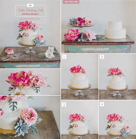 Flower To Decorate A Wedding by Diy Wedding Using Flowers On Wedding Cakes Afloral