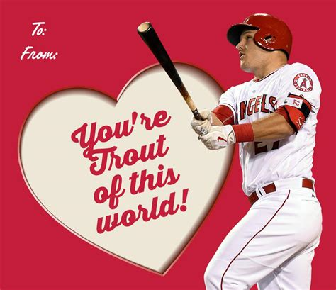 valentines baseball express your major league feelings with these mlb player