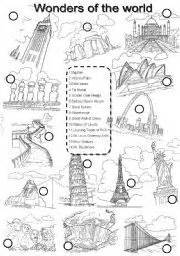 coloring pages seven wonders of the ancient world 1000 images about 7 wonders of the world on pinterest