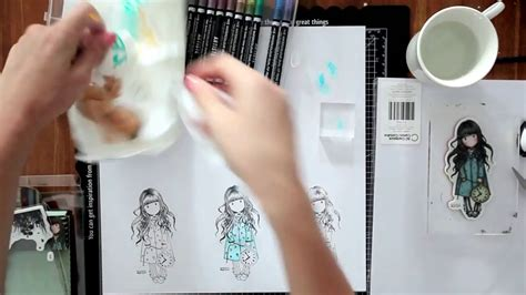 watercolor markers tutorial artiste watercolor markers tutorial docrafts part 1