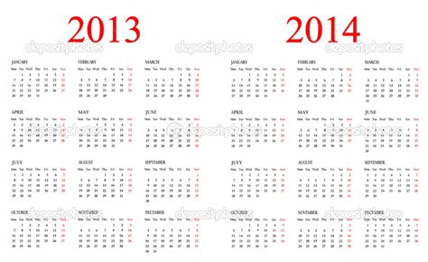 template for 2014 calendar 8 best images of printable academic calendar 2013 2014