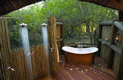 23 inspirational bathroom designs with outdoor