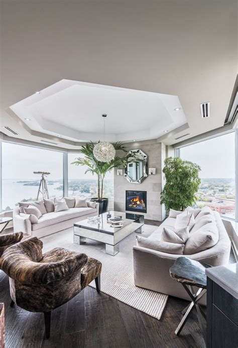 horse farm living room kansas city by space planning great space luxe brockville condo offers nautical style