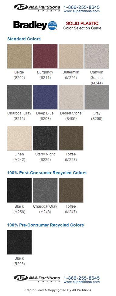 colors for plastics solid plastic colors
