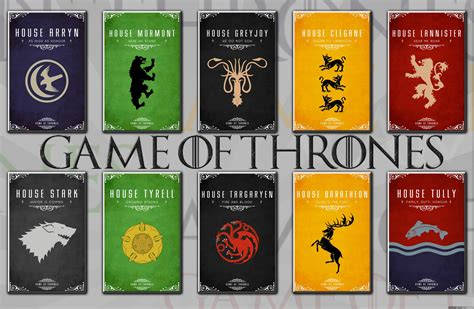 game of thrones houses game of thrones on emaze