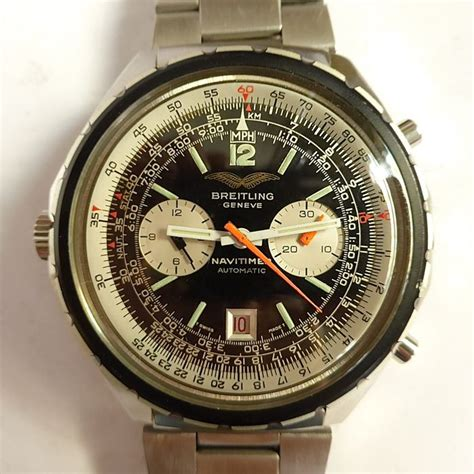 Bf Matic Navy breitling quot iraqi air quot 1806 navitimer chrono matic from the 70 s 80 s catawiki