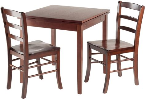 3 piece dining room set pulman 3 piece extendable dining room set from winsomewood