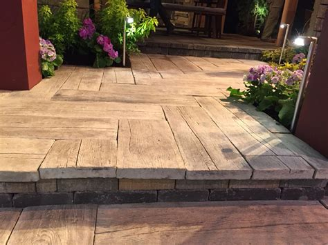 barn plank pavers basalite concrete products in