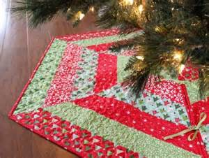 christmas tree skirt patterns quilted quilts pinterest