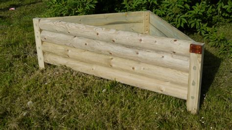 Wooden Garden Planter by Garden Planter Garden Planters Black Country Metal Works Wooden Garden Planter 61x20x20cm The