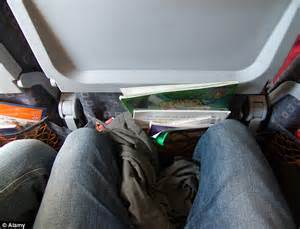 prevent airplane seat reclining 163 13 knee defender promises extra legroom by locking plane