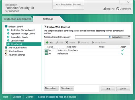 Antivirus Kaspersky Endpoint Security For Business kaspersky endpoint security for business 10 2 5 3201