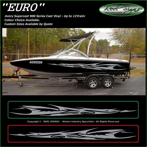 regal boat graphics boat graphics decal sticker kit quot euro 1800 quot marine cast