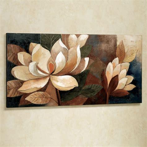 Magnolia Wall Decor by Magnolia Glow Floral Canvas Wall