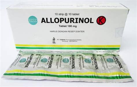 Obat Allopurinol allopurinol kegunaan dosis efek sing dll aladokter