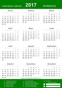 Calendario Laboral 2018 Cordoba 2017 Calendar Pdf Files 2017 Age