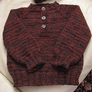The Pattern Library Down | child s top down henley pattern by kayl designs