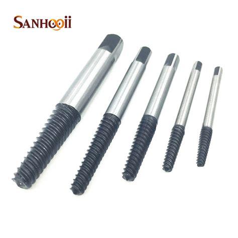 sanhooii 5in1 sale 1 8 3 4 3 18mm extractor drill bits set broken tap easy remove