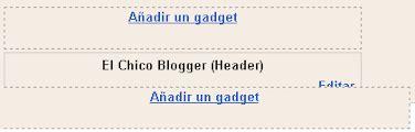 cabecera javascript html gadgets arriba y abajo de la cabecera
