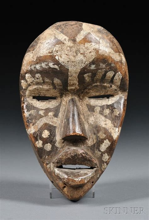 african masks dan mask africa patina of use ht 8 in afrikaanse