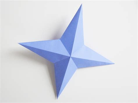 4 Pointed Origami - paper part 1 how did you make this luxe diy