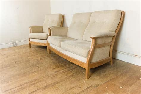 ercol gina sofa vintage retro ercol gina 2 seater sofa and armchair ebay