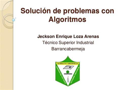 solucin de problemas 5 soluci 243 n de problemas con algoritmos