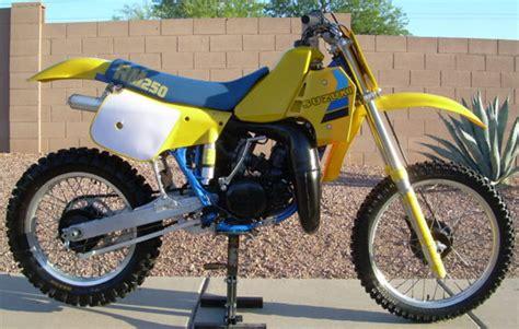 1984 Suzuki Rm250 1984 Suzuki Rm250 For Sale