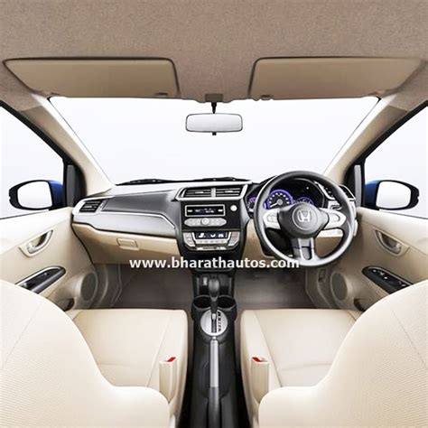 Amaze Car Interior by 2016 Honda Amaze Facelift Launched At Rs 5 29 Lakh