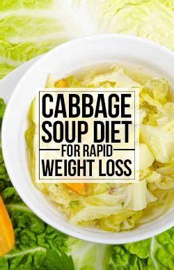 Detox And Weight Loss Soup by Cabbage Soup Diet For Rapid Weight Loss Cabbages Health