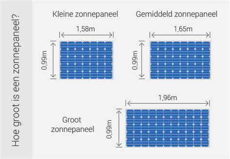 gemiddelde grootte zonnepanelen zonnepanelen kopen in 10 stappen