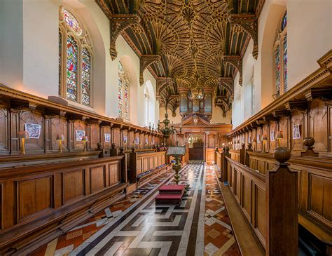 Oxford Interiors by File Brasenose College Chapel Interior Oxford Uk