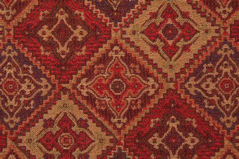 valdese weavers upholstery fabrics valdese weavers peck tapestry upholstery fabric in ruby