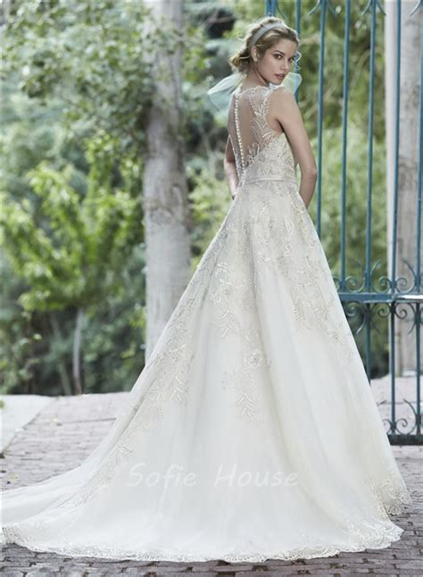 lace wedding dress with sparkly belt wedding bells dresses