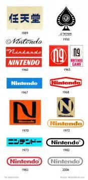 Publicada una imagen con los logos de Nintendo desde su
