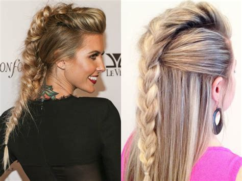 Braided Hairstyles 2017 by Expressive Braided Mohawk Hairstyles Hairdrome