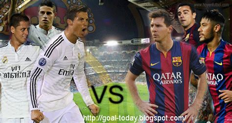 barcelona match today barcelona vs real madrid match liga bbva goal today