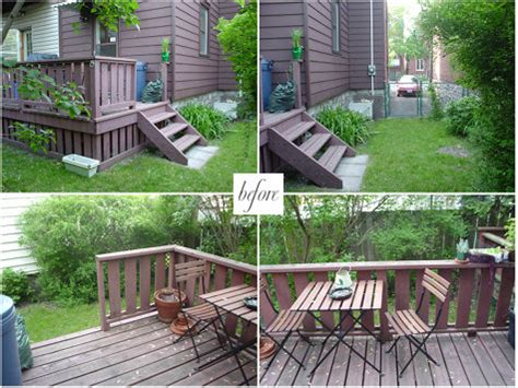 Small Backyard Ideas Before After Small Backyard Ideas Before After