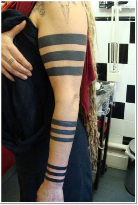 solid black armband tattoo designs 29 solid wristband tattoos designs