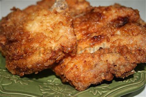 deep south dish: southern fried pork chops