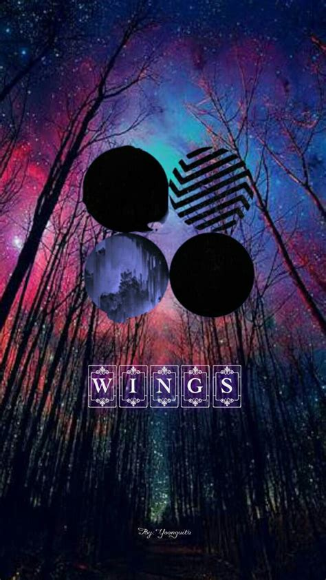bts album wallpaper bts wings album wallpaper by yoonguita on deviantart