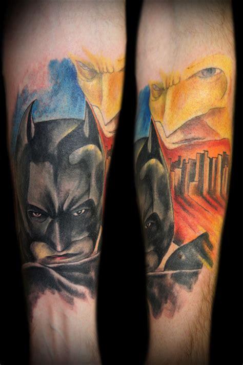 zulu tattoo prices dublin arm fantasy batman tattoo by zulu tattoo dublin