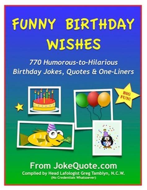 Birthday One Line Quotes Funny Happy Birthday Wishes Ebook