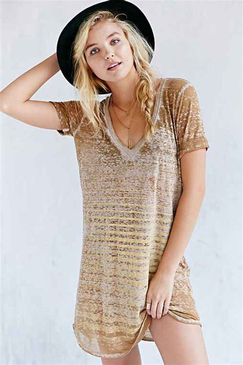 At T Gift Card Status - project social t easy v neck tee dress urban outfitters