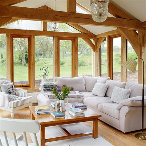 country homes interior garden room wander through this beautiful thatched cottage in dorset housetohome co uk