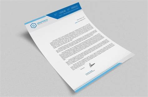 corporate letterhead design template adobe illustrator